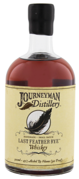 Journeyman Last Feather Rye Whiskey 0,5L 45%