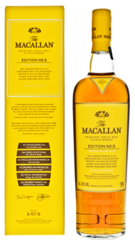 Macallan Edition No. 3 single malt whisky 0,7L 43%