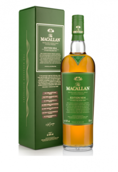 Macallan Edition No.4 single malt whisky 0,7L 48,4%