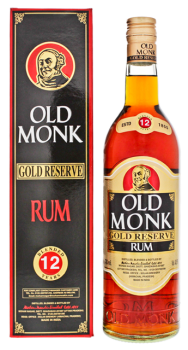 Old Monk 12 years old gold reserve rum 0,7L 42,8%