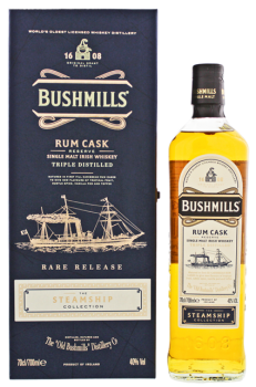 Bushmills Steamship Collection Triple Distilled 0,7 40%