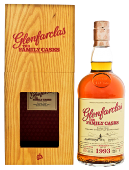 Glenfarclas The Family Casks 1993/2018 0,7L 53,3%