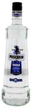 Puschkin crystal clear Vodka 1L 40%