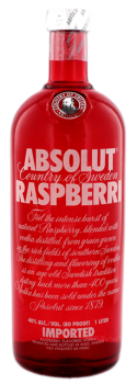 Absolut Vodka Raspberri 1L 40%