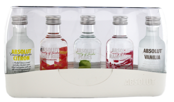 Absolut Vodka Five Pack wodka