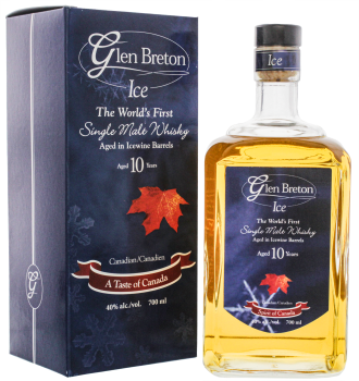 Glen Breton 10YO Ice Wine Barrel Whisky 0,7L 40%