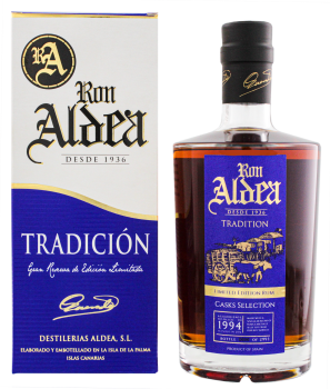 Ron Aldea Tradicion rum Selection 1994 2016 0,7L