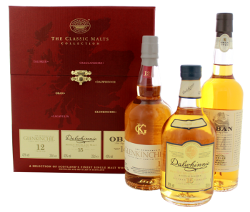 The Classic Malts Collection Gentle whisky 0,6L 43%