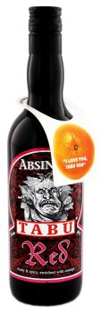 Tabu Absinth Red 0,7L 55%