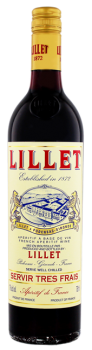 Lillet Rouge Aperitif vermouth 0,75L 17%