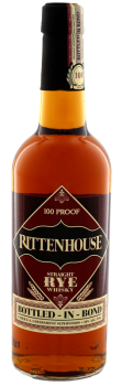 Rittenhouse Straight Rye 100 Proof whiskey 0,75L