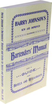 Harry Johnsons Bartenders Manual English