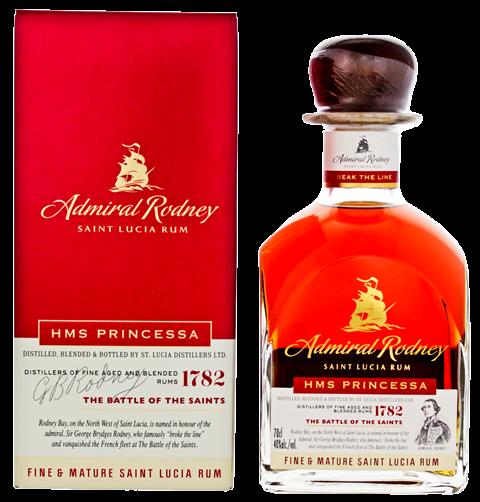 Admiral Rodney HMS Princessa Fine & Mature Rum online kopen