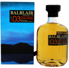 Balblair vintage 2003 single malt whisky 0,7L 43%