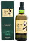 Hakushu 18 YO single Malt Japanse Whisky 0,7L 43%