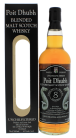 Poit Dhubh 8 years old Scotch Malt Whisky 0,7L 43%