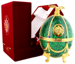 Imperial collections wodka Faberge Ei groen 0,7L 40%