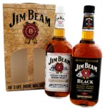 Jim Beam White + Black Twinpack bourbon 2L 41,5%