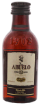 Ron Abuelo 12 years old anejo miniatuur 0,05L 40%