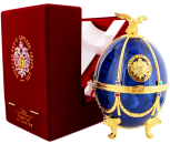 Imperial Collection Vodka Faberge Ei Blauw 0,7L 40%