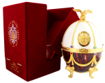 Imperial Collection wodka Faberge Ei Bordeaux wit