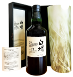 Hakushu 25 years old Malt Whisky Japanse 0,7L 43%